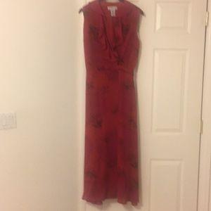 Spring flowy  long dress